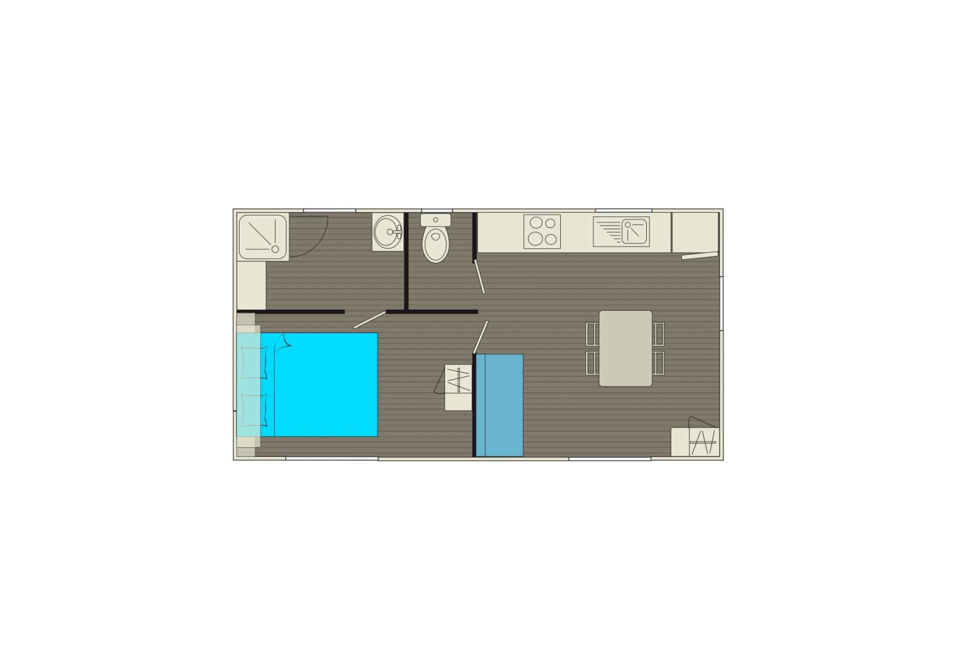 cottage duo. Black Bedroom Furniture Sets. Home Design Ideas